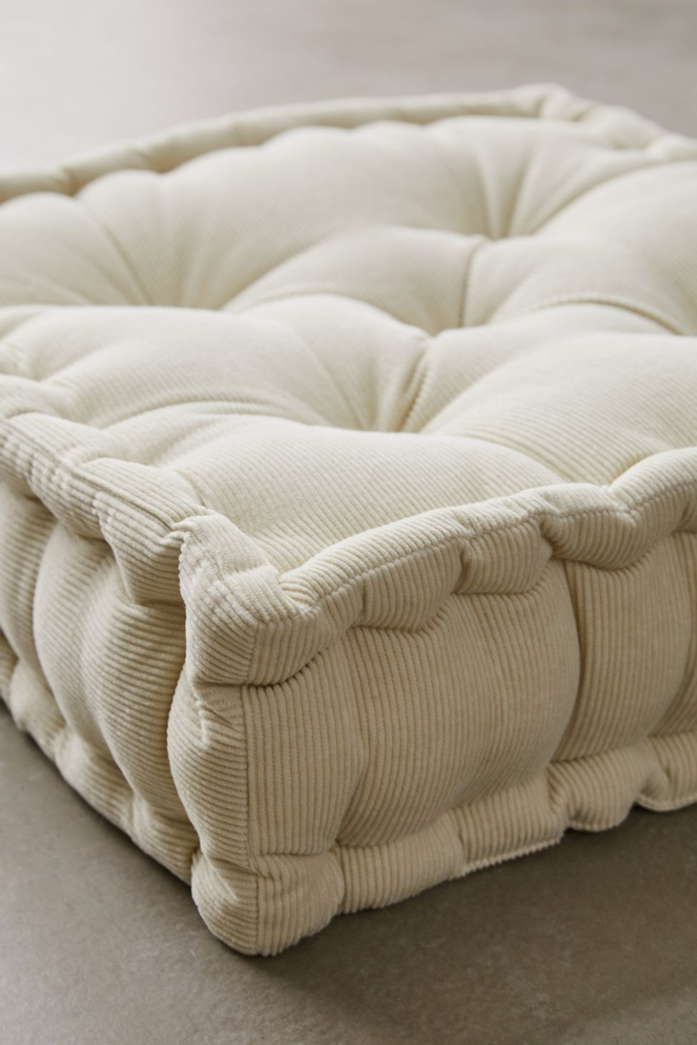 Washed Corduroy Floor Pillow