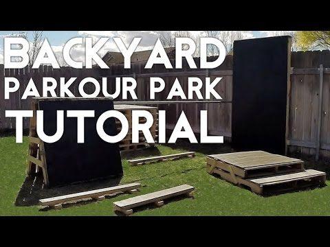 How To Build A Backyard Parkour Park | Tutorial - YouTube ...