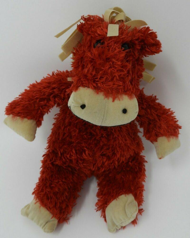 Jellycat Bunglie Pony Horse Red Tan Plush 8 Soft Toy Cute Stuffed Animal Ebay In 2020 Cute Stuffed Animals Monkey Stuffed Animal Pony Horse