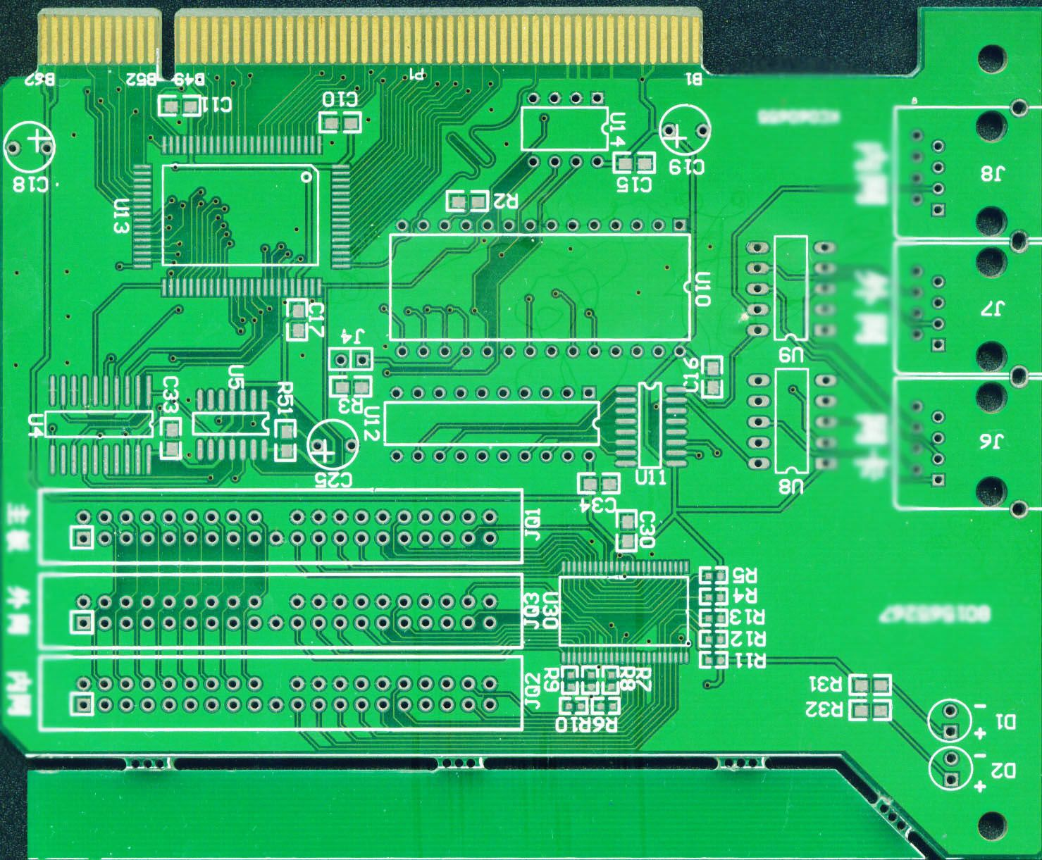 4 Layer Pcb Printed Circuit Board Graphic Overlaymembrane Switch How Is A Manufactured Manufacture