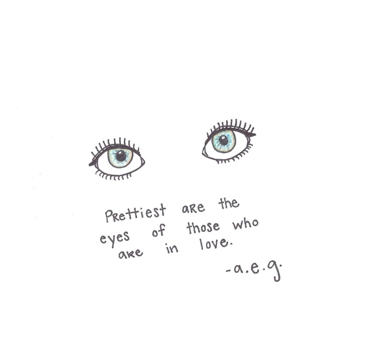 Artsy eyes aesthetic words aesthetic drawing words