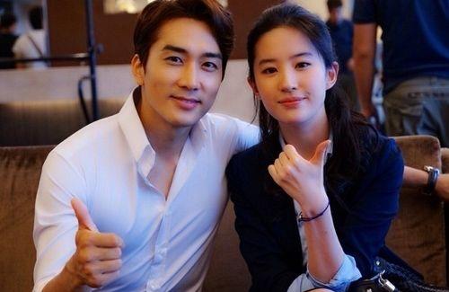 Crystal Liu Dating Korean Actor Song Seung Heon Song Seung Heon Korean Actors Actors