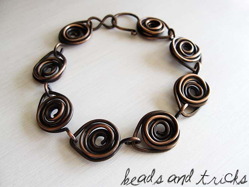 Evoluzione di una rosa | jewelry, wire | Pinterest | Beads, Wire ...
