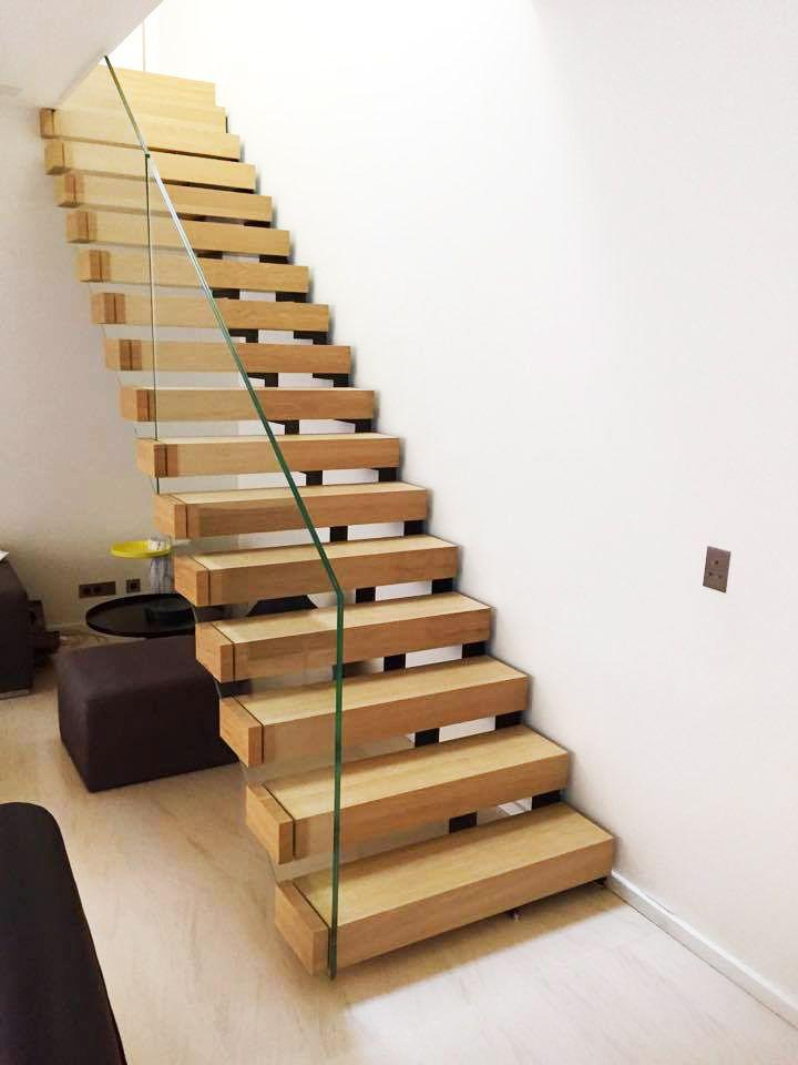 Escalier Suspendu En Bois A Lyon Escalier Kesson Kes005 Kozac