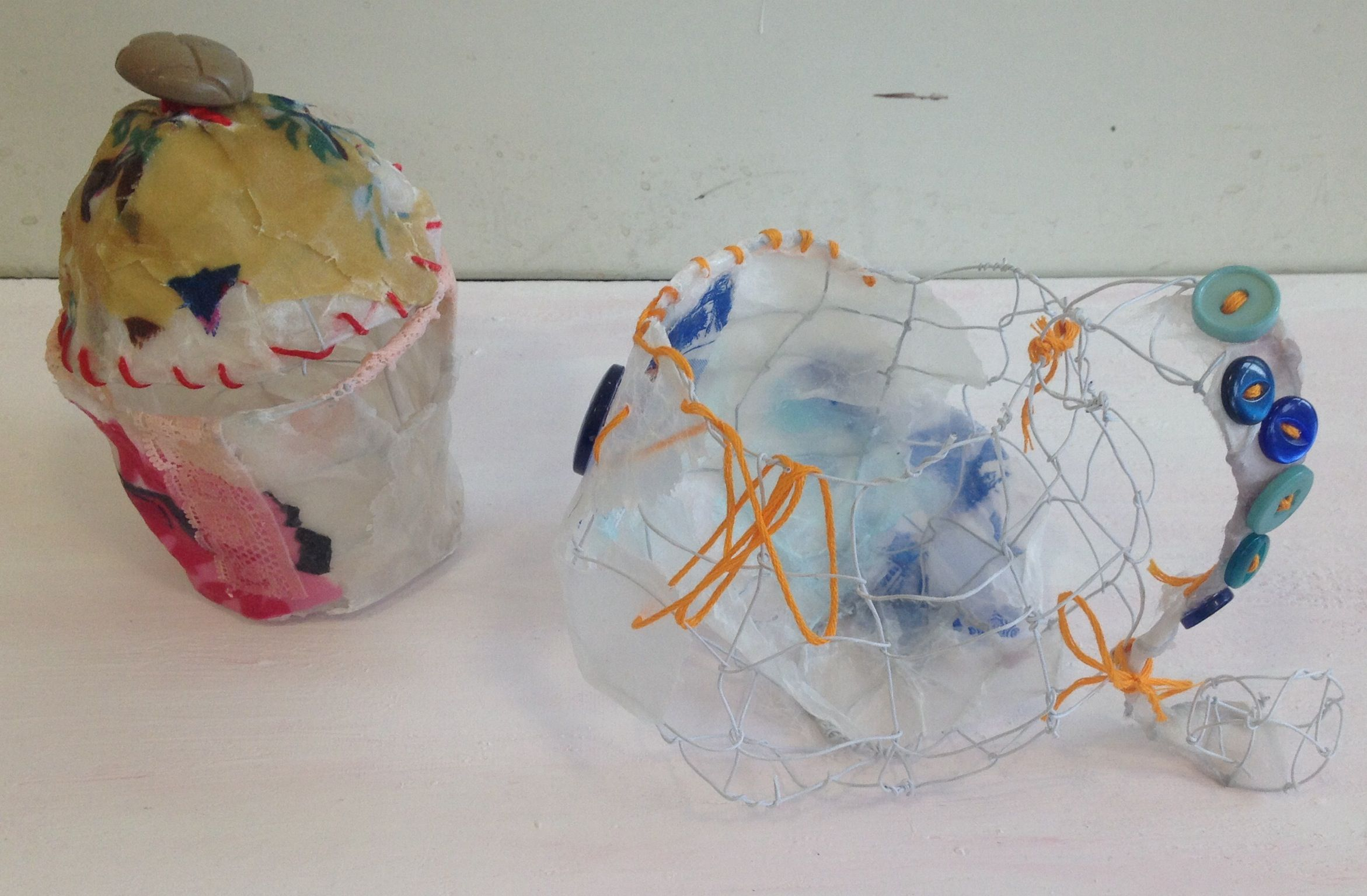 Artwork produced during Priscilla jones workshop