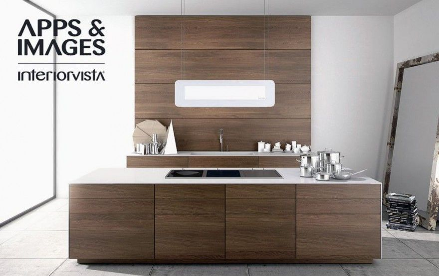 kitchen cabinetry modern |  modern walnut kitchen cabinets
