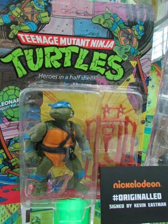Original Leonardo Ninja Turtle Toys Teenage Mutant Ninja