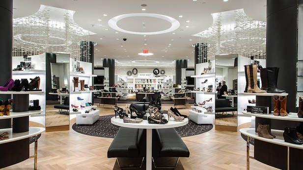 shoe stores, Shop interior design
