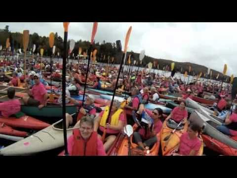 One Square Mile of Hope 2011 - World Record for Largest Floating Raft
