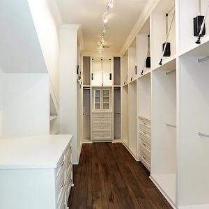 Har Closets Narrow Walk In Closet Wardrobe