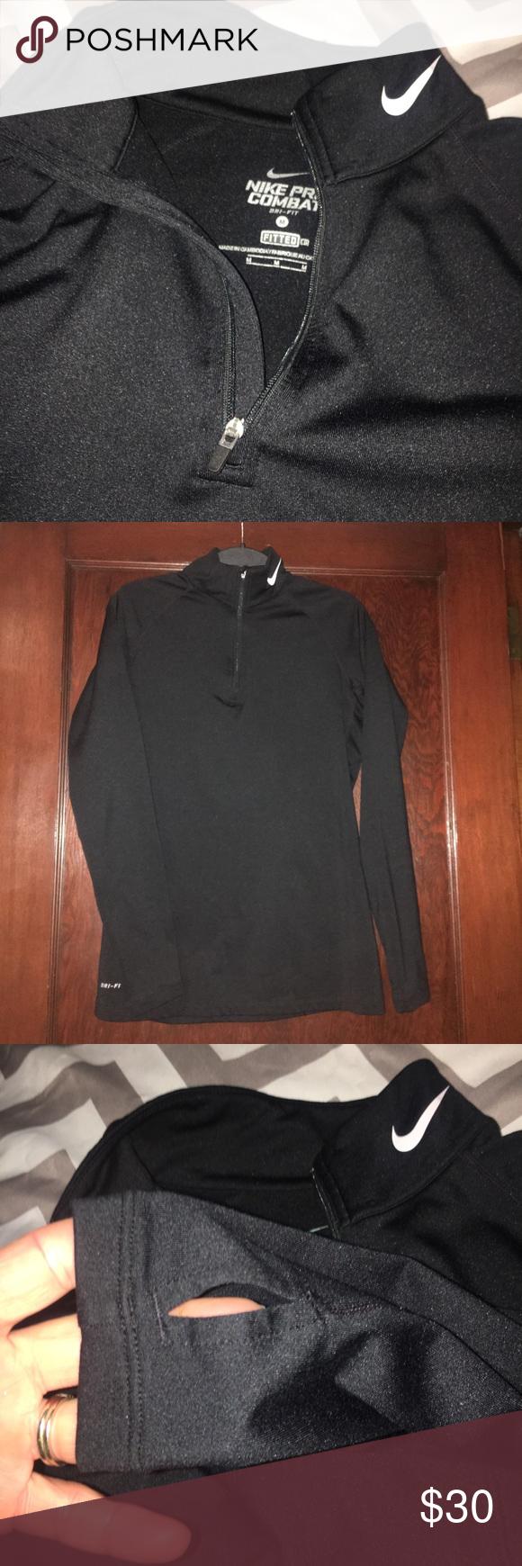 Nike Pro Combat Running Shirt Running Shirts Nike Pro Combat Black Shirt [ 1740 x 580 Pixel ]
