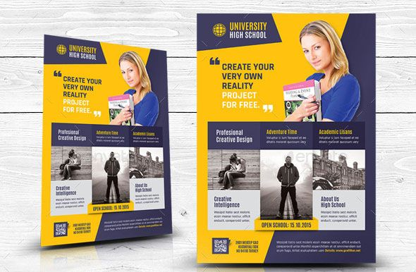 High School Flyer Templates  Print Fitness    Flyer
