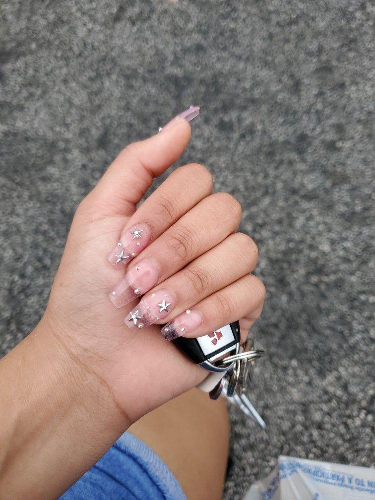 Pin By Angie Clausen On Nails Clear Nail Tips Nails Nail Tips