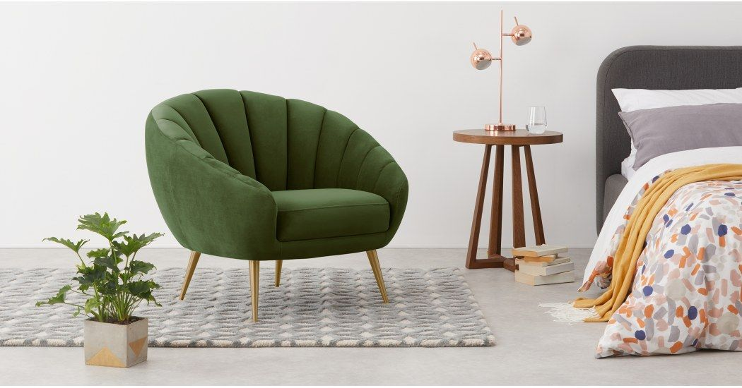 Made Petrol Teal Armchair Accent Chairs For Sale Lounge Chair