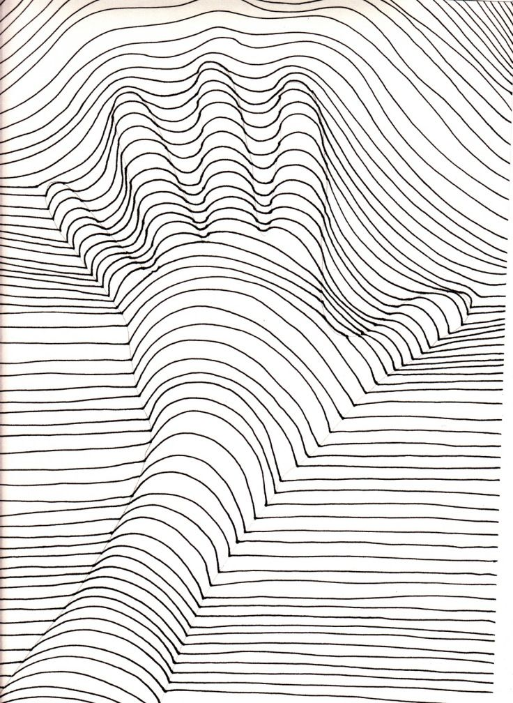 Image result for op art hand drawing Drawings Illusion