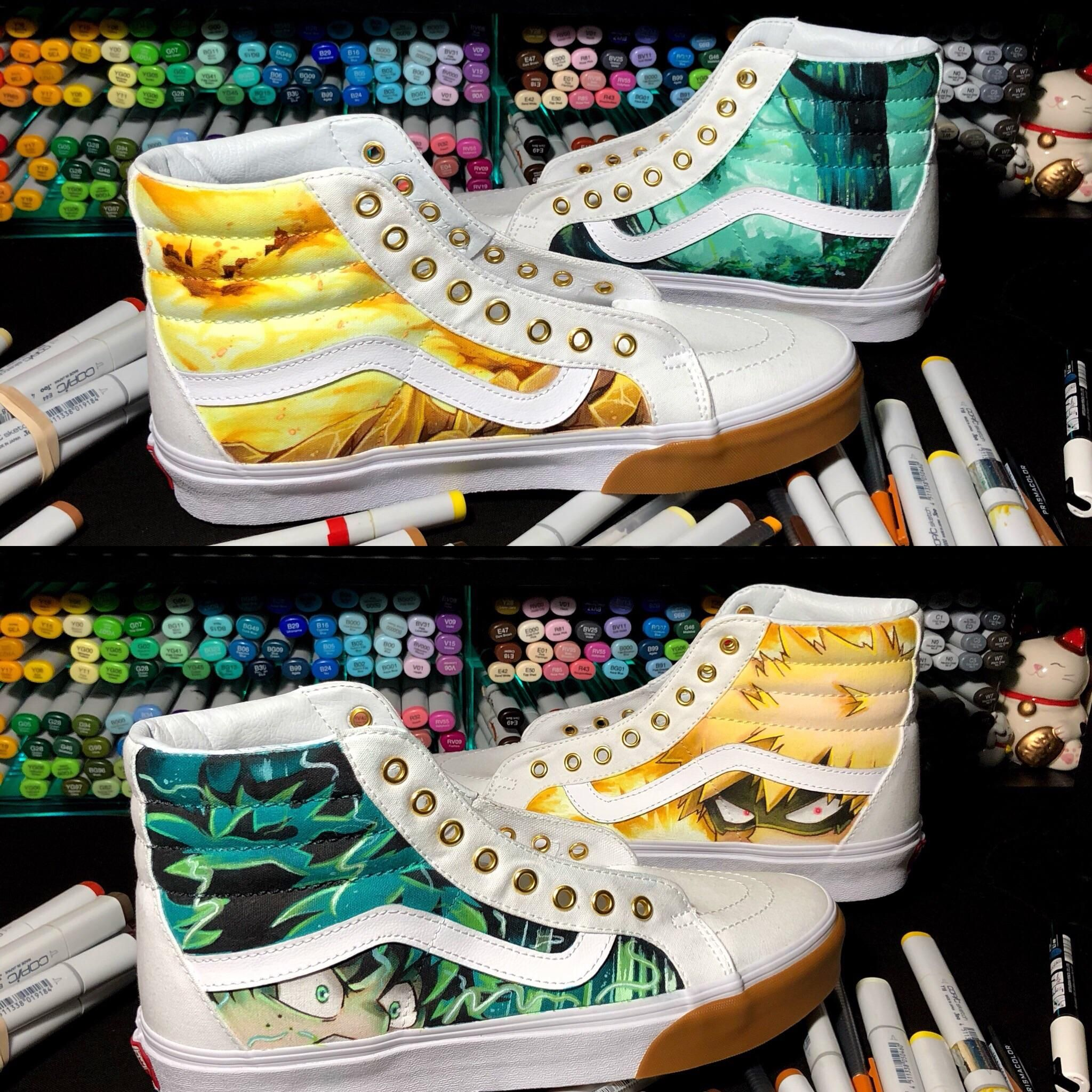 My hero academia merchandise by Summer on VANS Anime