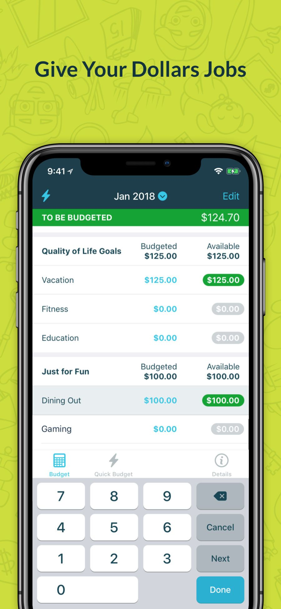 YNAB (You Need A Budget) iosProductivityappapps