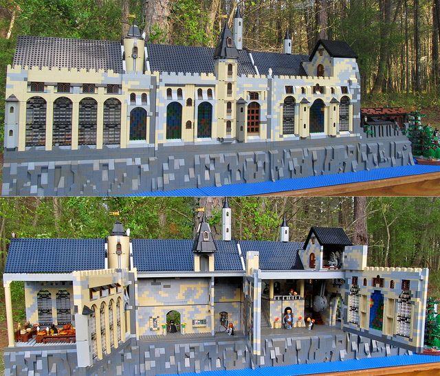 Playable hogwarts lego build lego lego lego house e for Mobili harry potter