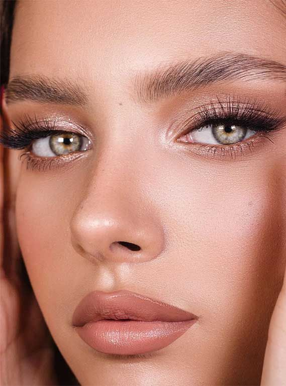 Beautiful Neutral Makeup ideas for Summer perfect