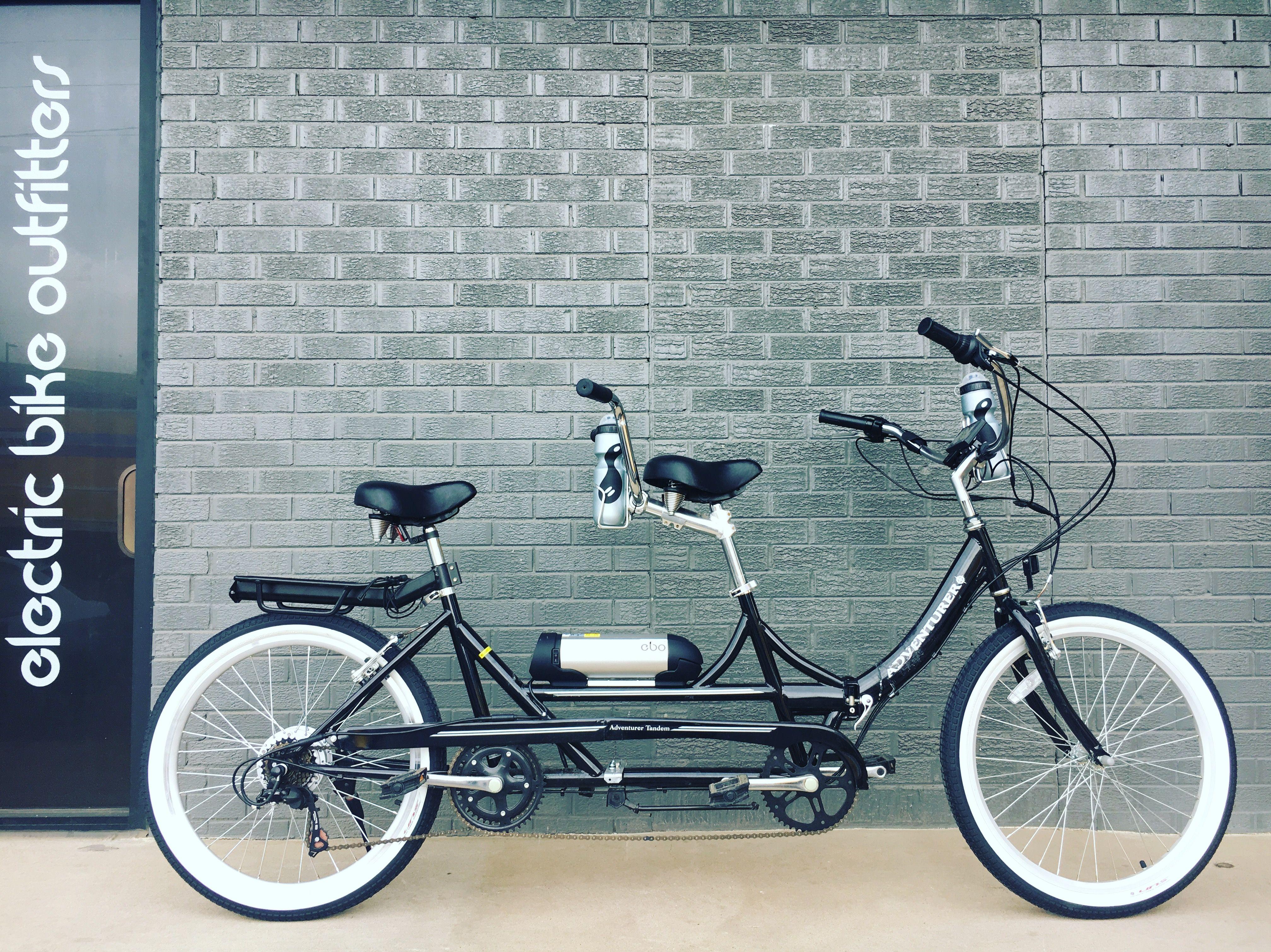 Ebo Phantom Electric Bike Kit Installed On A Adventurer Tandem Bike Electric Bike Kits Tandem Bike Bike Kit