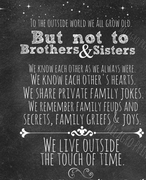 National Sibling Day Adoption Little Brother Quotes Brother