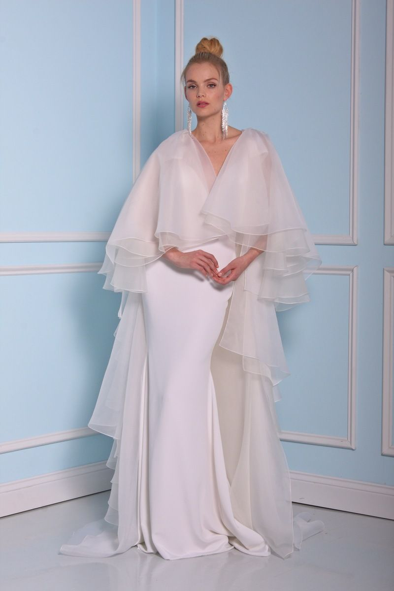 Collection bridal christian siriano wedding dress winter