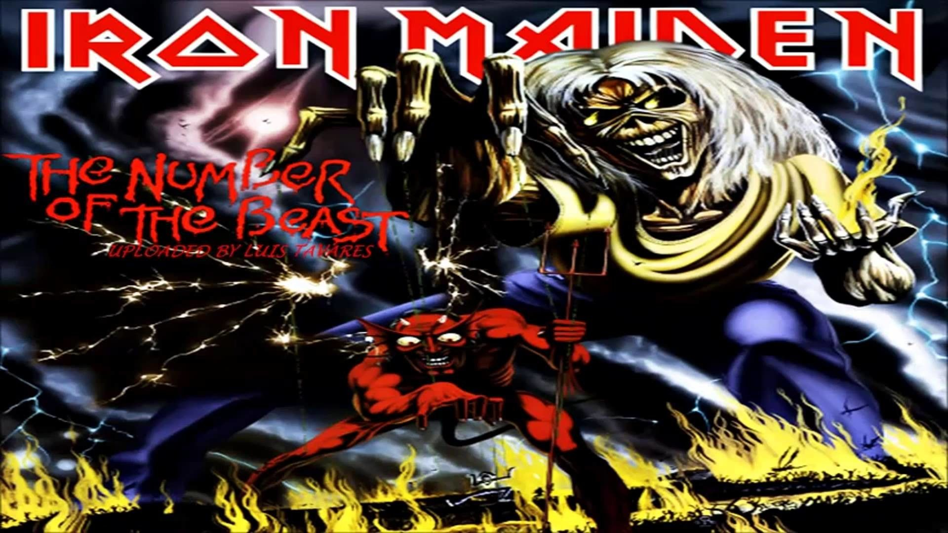 Iron Maiden Number Of The Beast Wallpapers High Resolution Iron