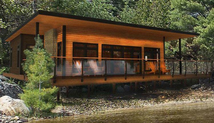 Canada Pre fab 1500 sq ft HoneyHarbourRenderingjpg 3 Houses