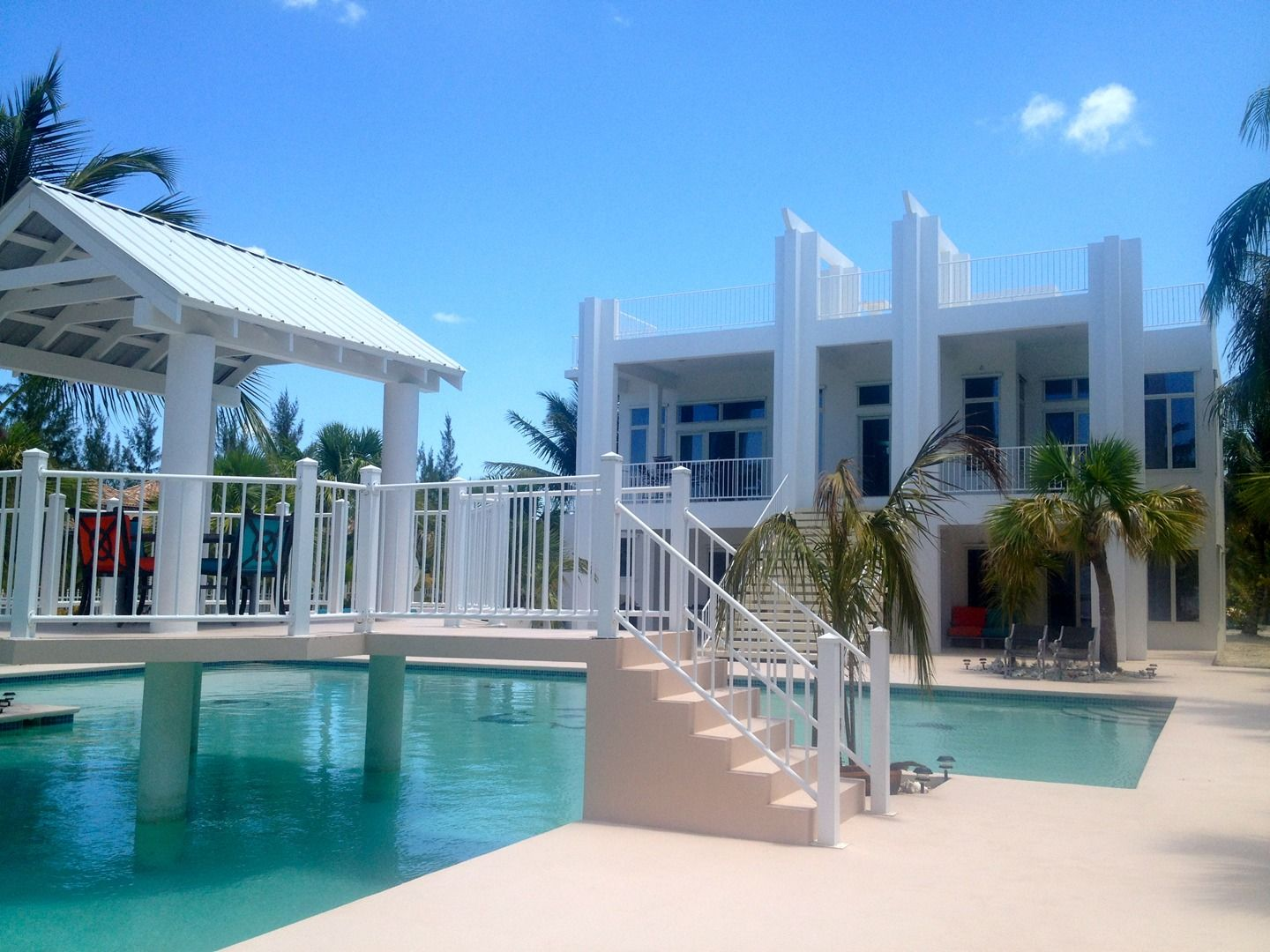 North Caicos Villa for rent. Located on private beach. Paradise is ...