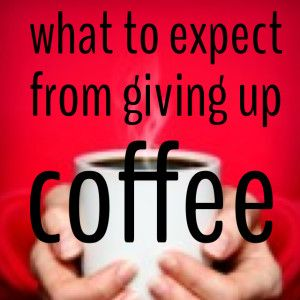 What To Expect From Giving Up Coffee. lowering your caffeine can improve your health