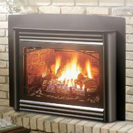 Kingsman IDV36 Direct Vent Fireplace Insert #LearnShopEnjoy Beach