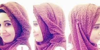 Image result for indonesian head scarf style