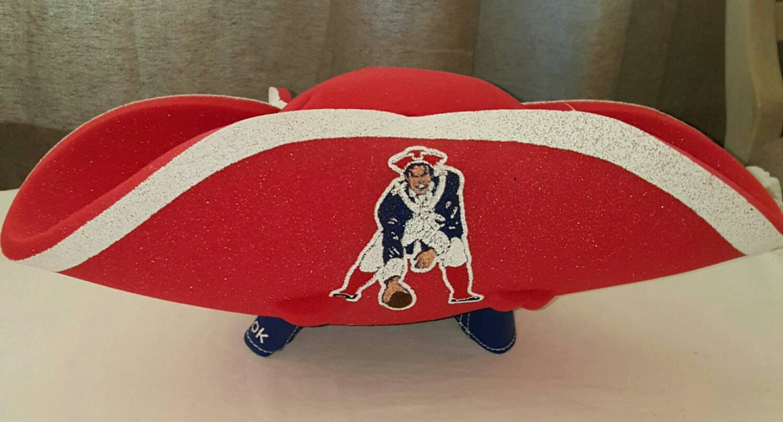 New England Patriots Foam Tricorn Hat by ResouledGypsy on Etsy ... 6ac5c877667