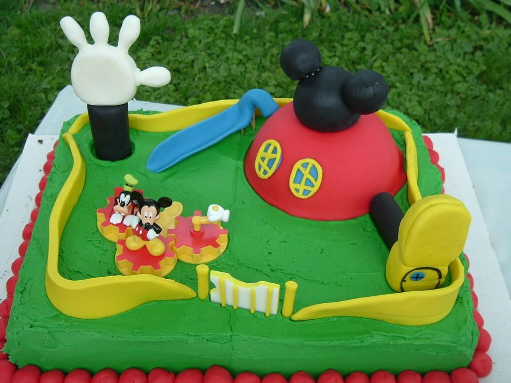 Mickey Mouse Clubhouse Cake Do It For the Chitlins Pinterest