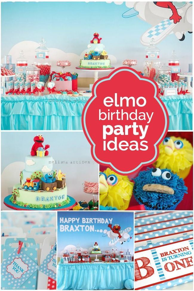 Elmo themed birthday party elmo birthday party ideas elmo whats a birthday party idea that will tickle their fancy i suggest looking at these 21 fabulous elmo themed ideas solutioingenieria Image collections