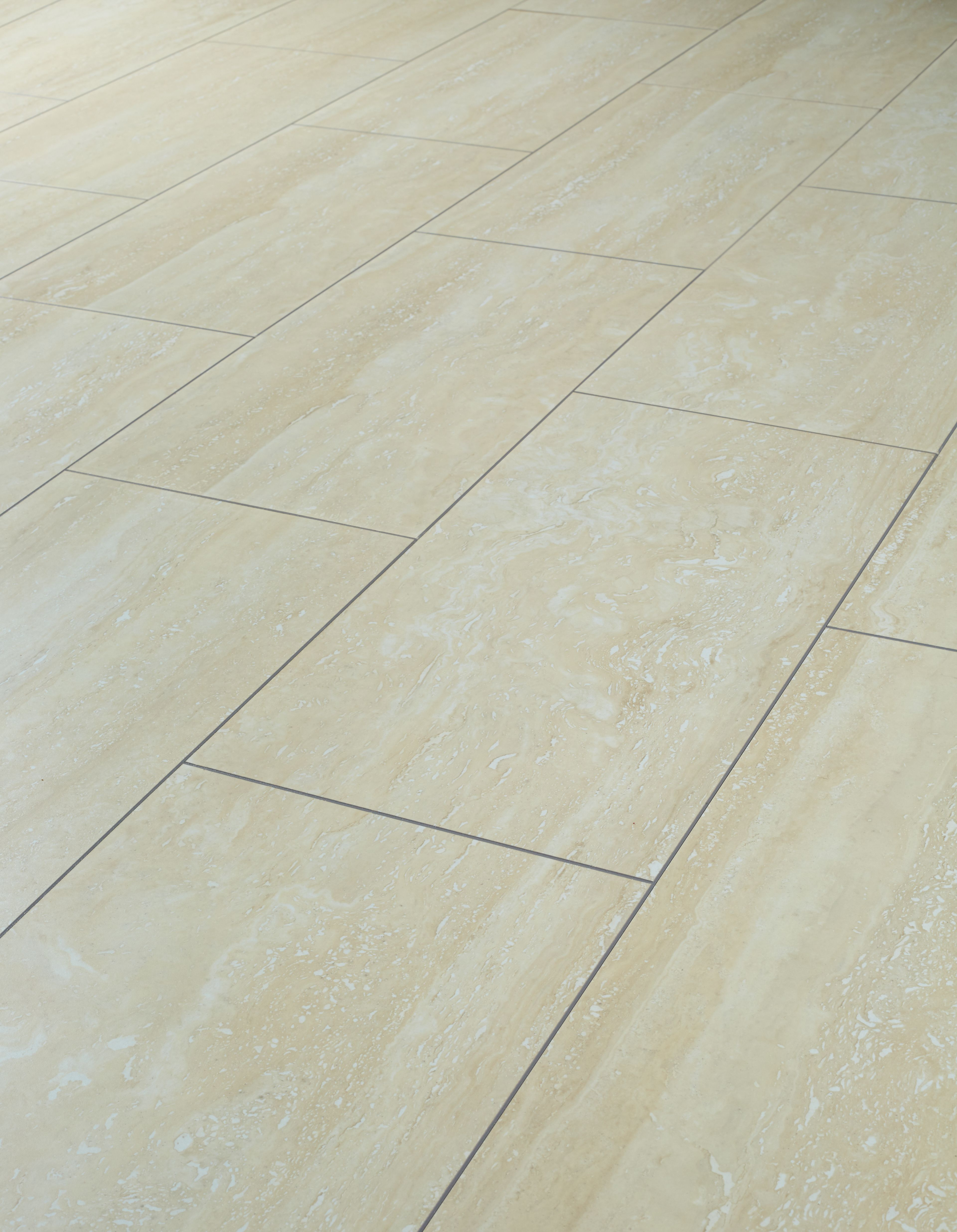 Wickes Travertine Tile Effect Laminate Flooring 2.5m2