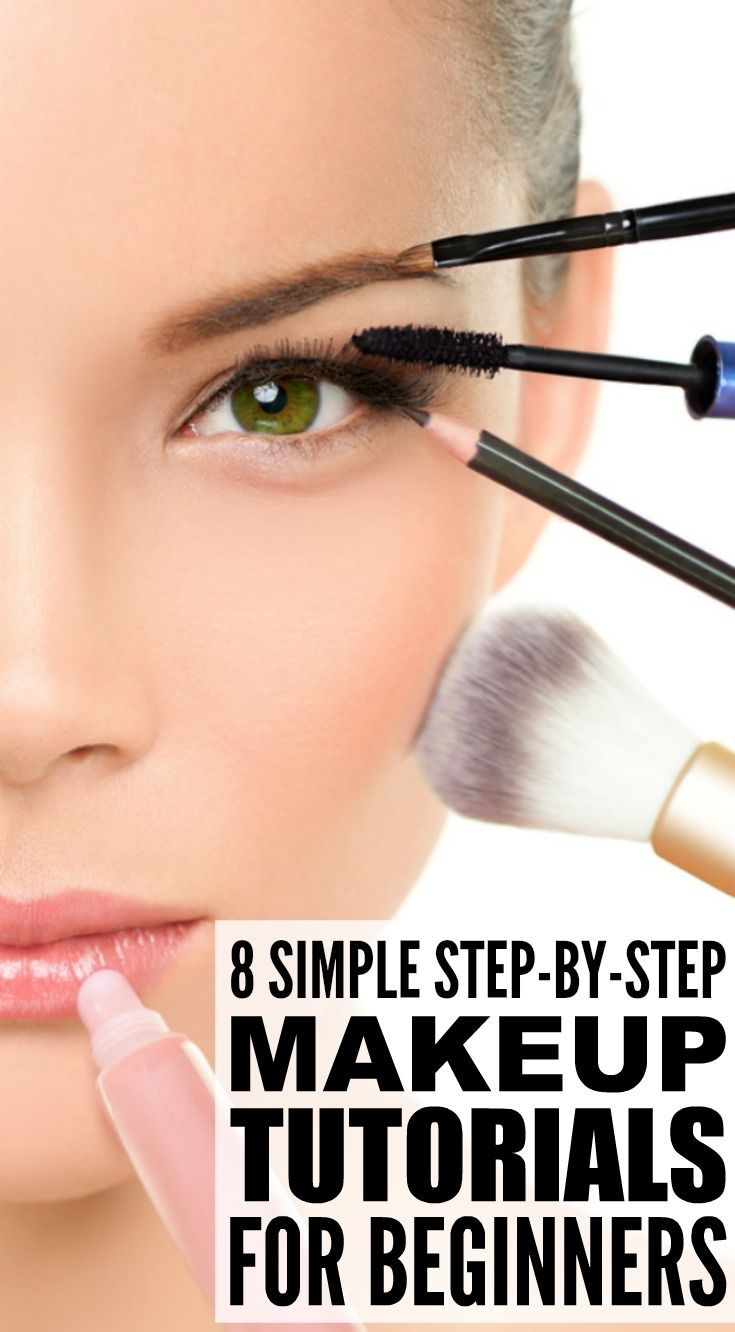 8 step-by-step makeup tutorials for beginners | ♥ makeup