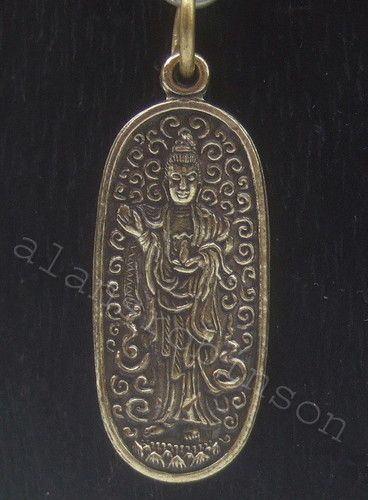 Yin pendant or chord or bead necklace halskette quan yin kuan yin guan yin pendant or chord or bead necklace halskette quan yin kuan yin buddha aloadofball Gallery