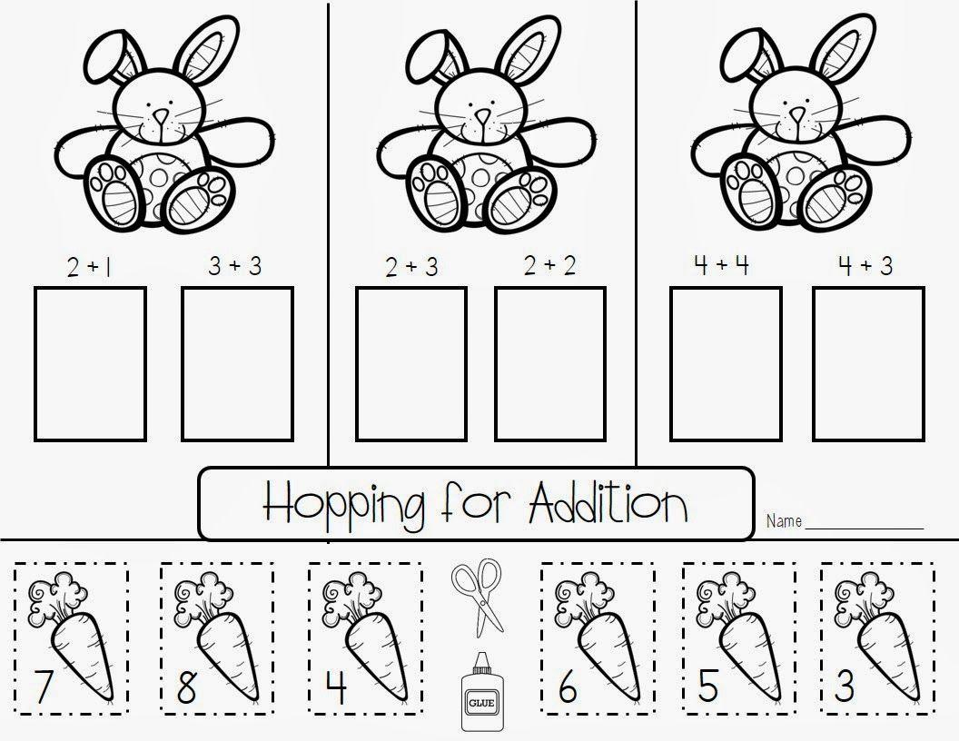 Easter Printables Kindergarten