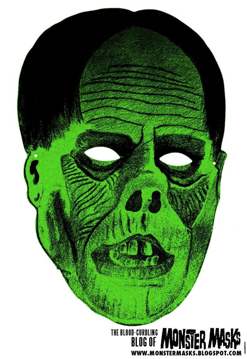 Free Vintage Phantom of the Opera Cut Out Printable Mask #free ...