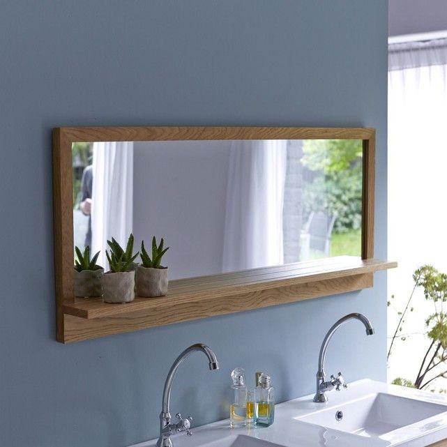 Découvrez le miroir Easy Duo en chêne de la marque Tikamoon !Grâce à