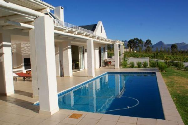 Villa Zuid Afrika : Vakantiehuis west kaap western cape wellington luxe villa in