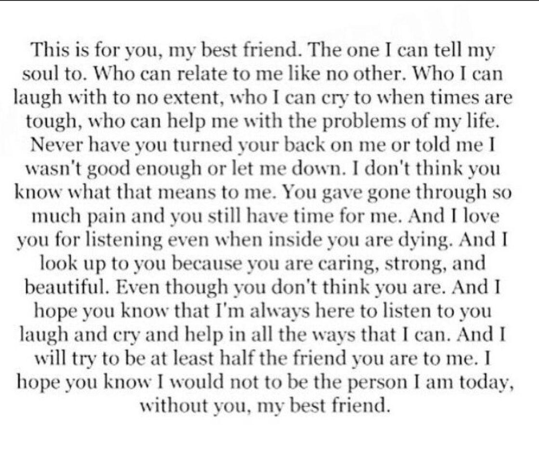 Best Friends Friends Quotes Letter To Best Friend My Best Friend Quotes