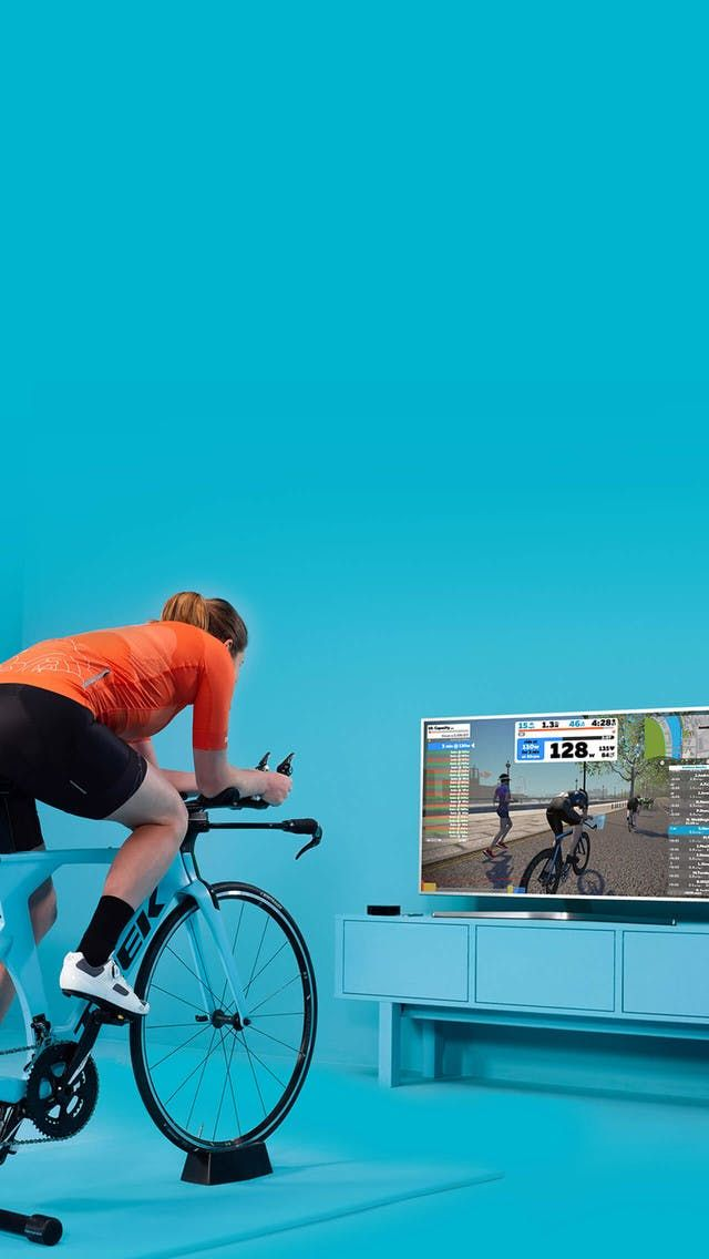 At Home Cycling & Running Virtual Training & Workout Game