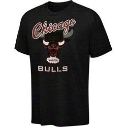 7e15e8d5b Chicago Bulls Hardwood Classic Logo Tri-Blend T-Shirt - Black  34.99 http