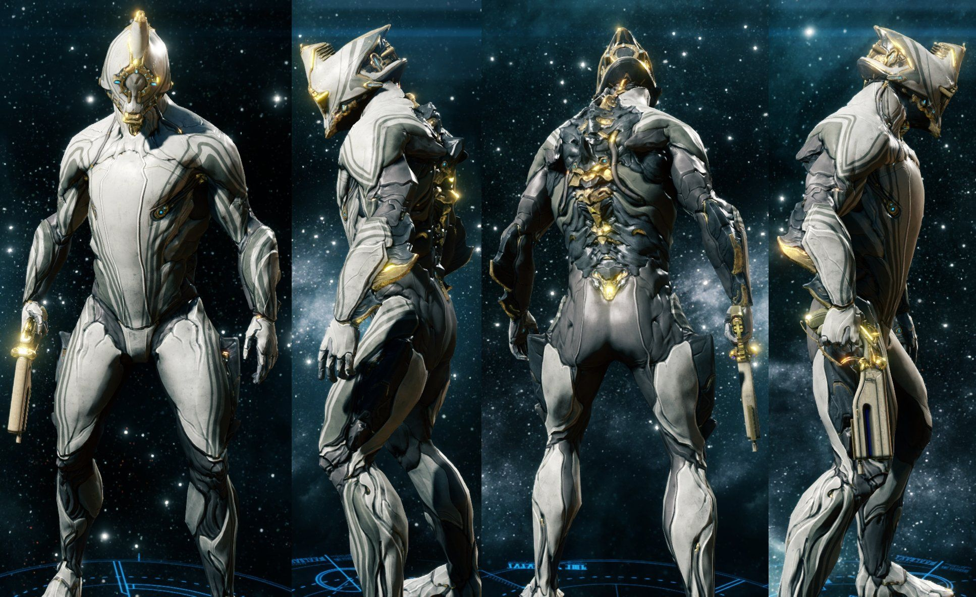 Warframe Excalibur Immortal Skin Google Search Mystery Sci Fi
