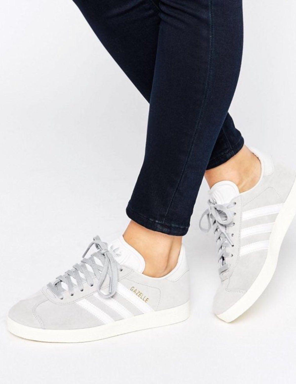 conformità Petulanza figura  Adidas Gazelle Grey Suede Sz 8 9 in 2020   Adidas women, Shoes, Adidas  shoes women