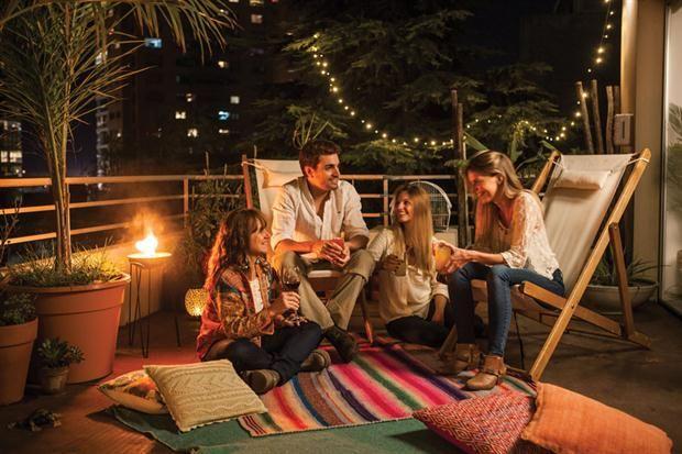 Tono Terraza : Una terraza con aire oriental ideas depto pinterest terrazas