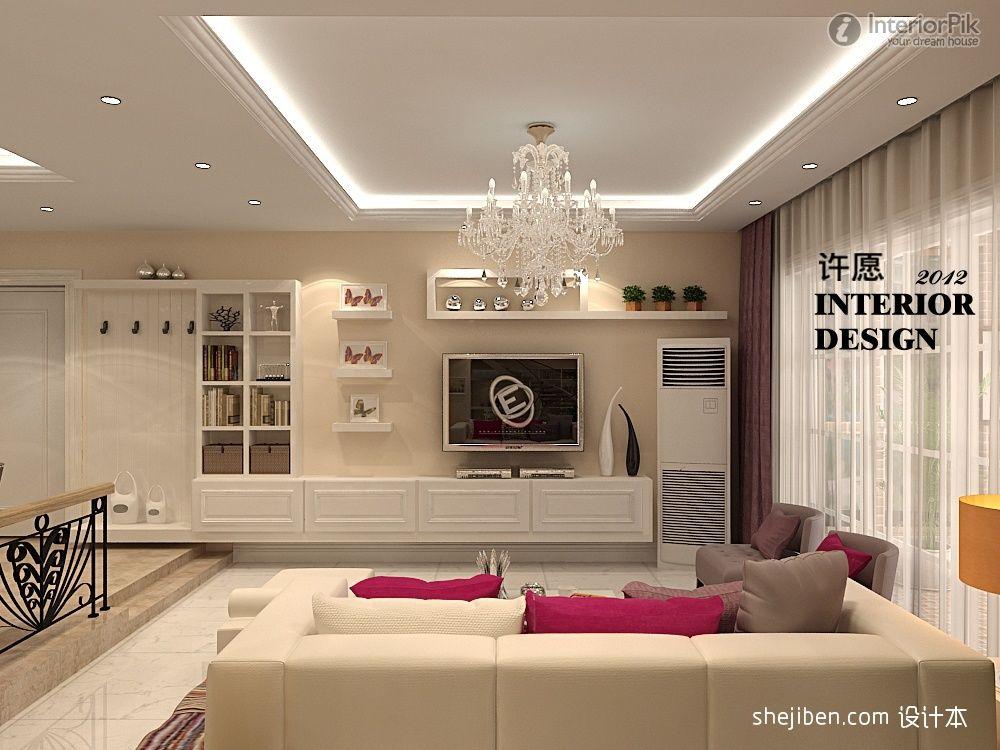 European Style Living Room Lcd Tv Wall Lcd Tv Wall Tv Wall Room