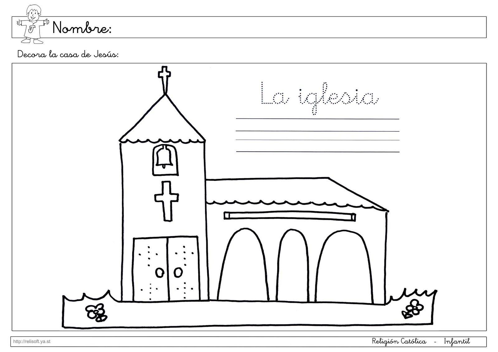 Resultado de imagen de fichas la casa infantil | Religión ...
